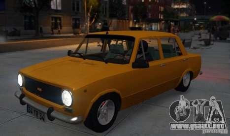 Fiat 124 para GTA 4 vista hacia atrás