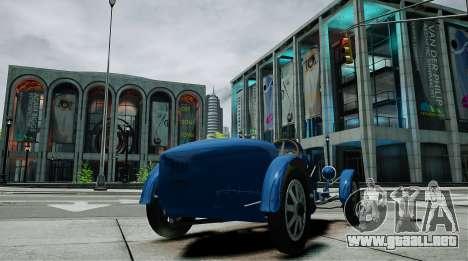Bugatti Type 35C para GTA 4 Vista posterior izquierda