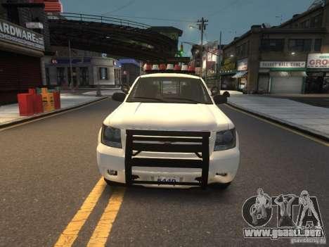 Chevrolet Tahoe NYPD V.2.0 para GTA 4
