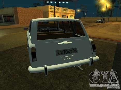 VAZ 2106 Touring para la visión correcta GTA San Andreas