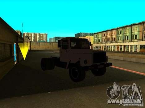 GAZ 3309 tractor para la visión correcta GTA San Andreas