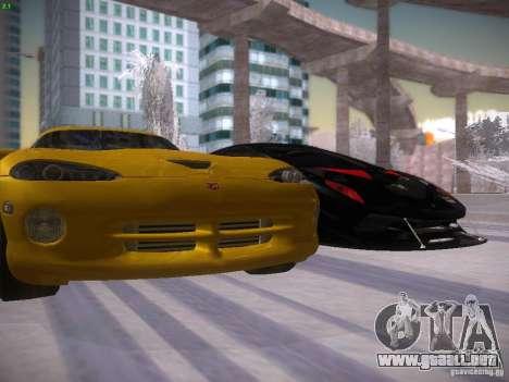 Dodge Viper 1996 para la vista superior GTA San Andreas