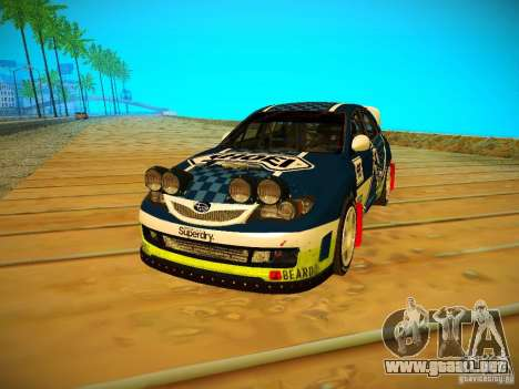 Subaru Impreza WRX STi N14 Rallycross para GTA San Andreas left
