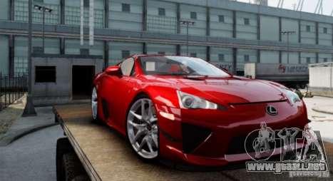 Lexus LF-A para GTA 4 left