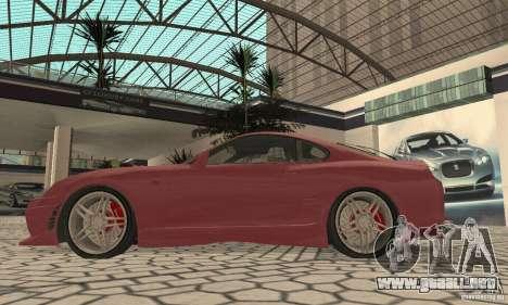 Toyota Supra Tunable 2 para la visión correcta GTA San Andreas