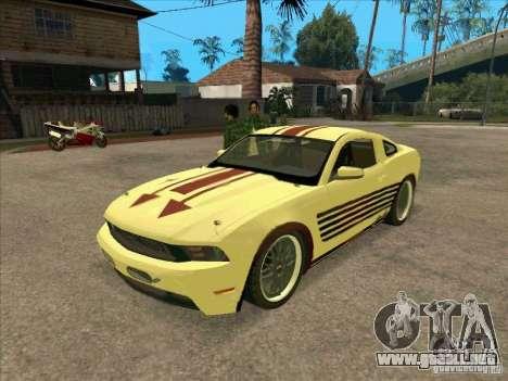 Ford Mustang Jade from NFS WM para GTA San Andreas