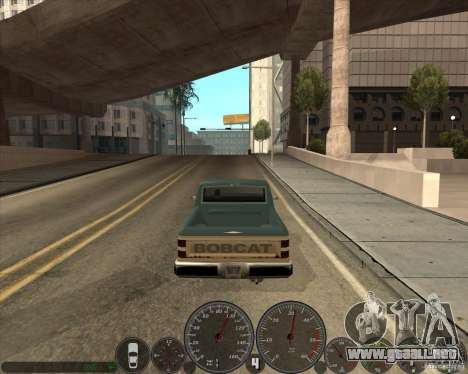 Memphis velocímetro v2.0 para GTA San Andreas