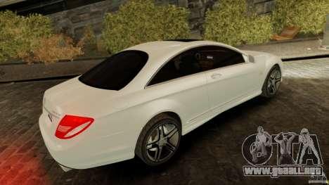 Mercedes-Benz CL65 AMG Stock para GTA 4 left