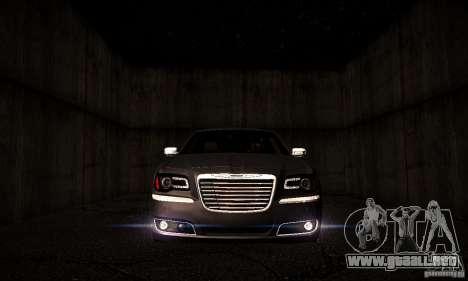Chrysler 300c para GTA San Andreas