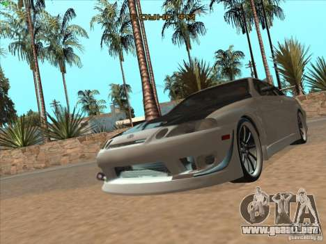 Toyota Soarer (JZZ30) para vista lateral GTA San Andreas