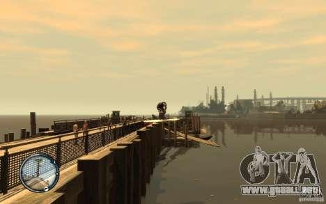 Tabla de surf para GTA 4 vista hacia atrás