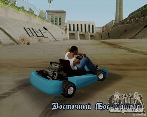 Kart para vista lateral GTA San Andreas