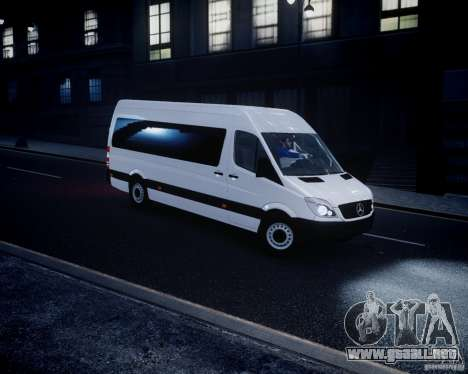 Mercedes-Benz Sprinter Long para GTA 4 left
