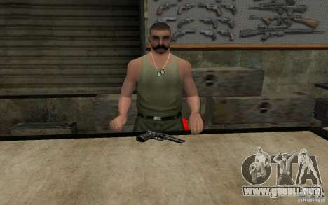 Barreta M9 and Barreta M9 Silenced para GTA San Andreas tercera pantalla