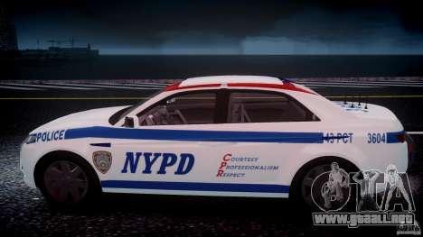 Carbon Motors E7 Concept Interceptor NYPD [ELS] para GTA motor 4