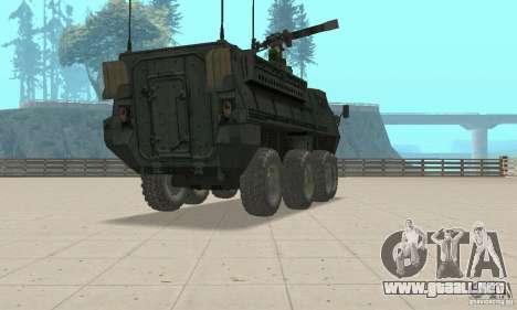 Stryker para GTA San Andreas left