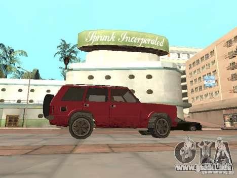 El nuevo Huntley para GTA San Andreas left