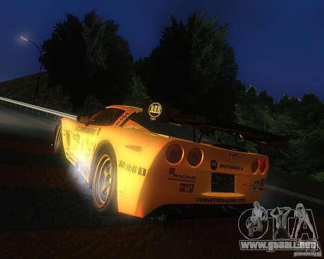 Chevrolet Corvette Drift para GTA San Andreas left