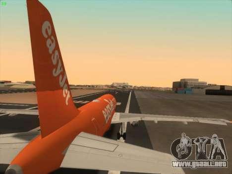 Airbus A320-214 EasyJet 200th Plane para el motor de GTA San Andreas
