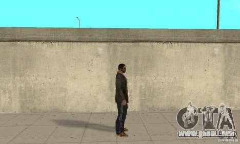 Niko Bellic para GTA San Andreas segunda pantalla