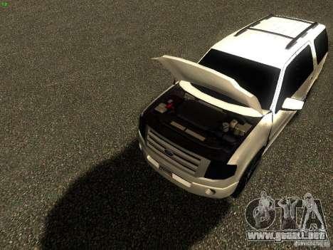 Ford Expedition 2008 para la visión correcta GTA San Andreas