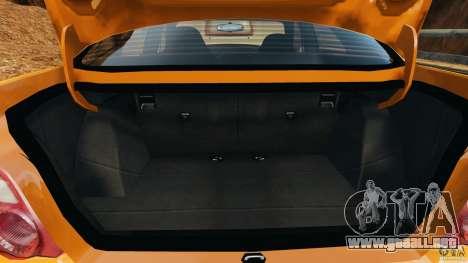 Subaru Impreza WRX STI 2005 para GTA 4 vista desde abajo
