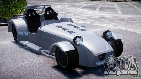 Caterham Super Seven para GTA 4 visión correcta