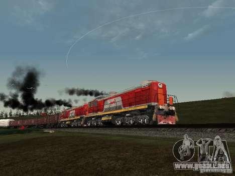 Tem2-6883 RZD para vista lateral GTA San Andreas