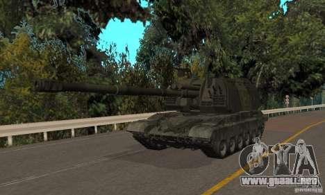 2S19 MSTA-s, versión de invierno para GTA San Andreas left