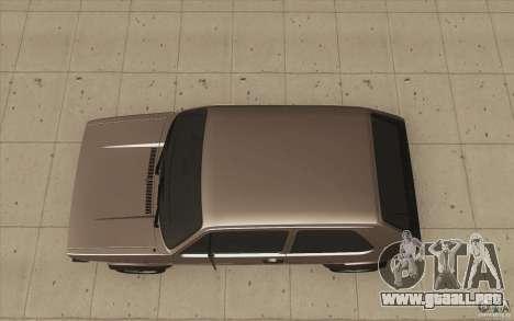 Volkswagen Golf Mk1 - Stock para la visión correcta GTA San Andreas