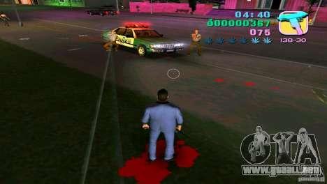 El fluir de la sangre para GTA Vice City tercera pantalla