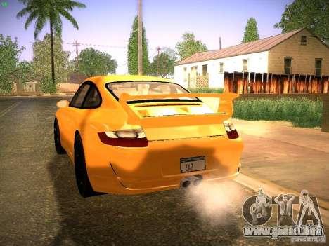Porsche 911 para GTA San Andreas vista hacia atrás