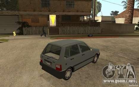 Fiat Uno 70s para GTA San Andreas