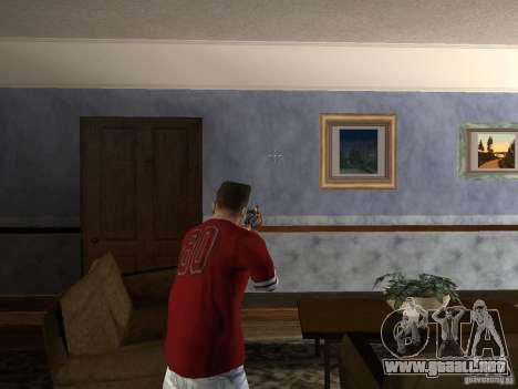 AK HD para GTA San Andreas sucesivamente de pantalla