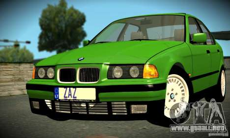 BMW E36 320i para GTA San Andreas left
