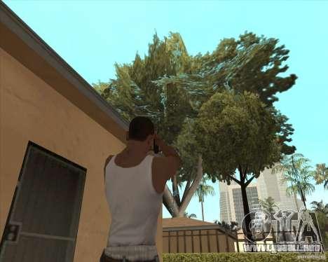 Smith Wesson HD + animation para GTA San Andreas tercera pantalla