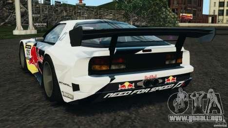 Mazda RX-7 Mad Mike para GTA 4 Vista posterior izquierda