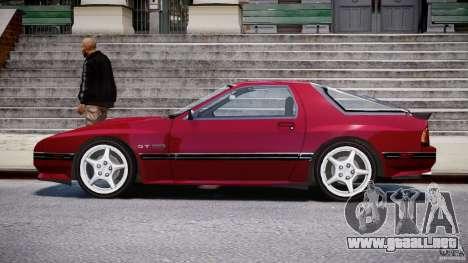 Mazda RX7 FC3S v2 FINAL para GTA 4 left