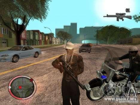GTA IV HUD Final para GTA San Andreas tercera pantalla
