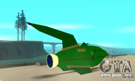 Planet Express para GTA San Andreas left