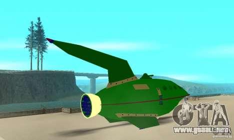 Planet Express para GTA San Andreas left
