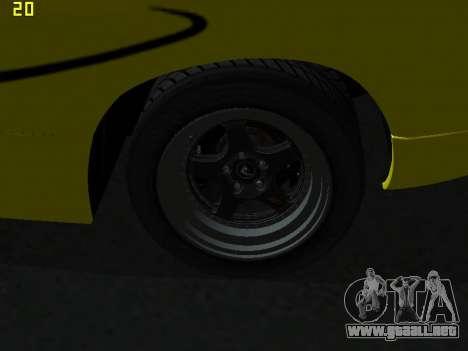 Lamborghini Diablo SV para visión interna GTA San Andreas