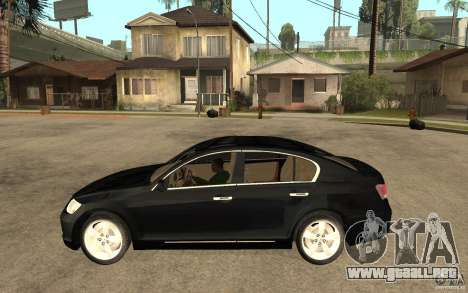 Lexus GS430 2007 para GTA San Andreas left