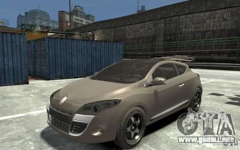 Renault Megane Coupe para GTA 4