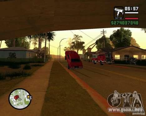 Dragger para GTA San Andreas segunda pantalla