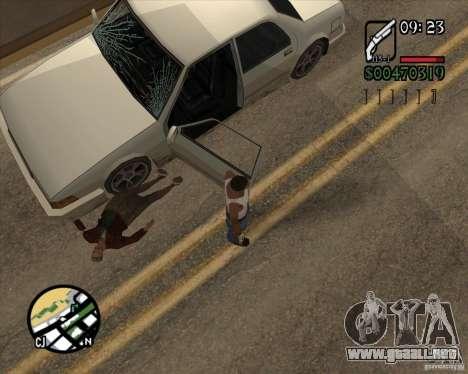 Endorphin Mod v.3 para GTA San Andreas octavo de pantalla