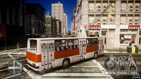 IKARUS 260 para GTA 4 left