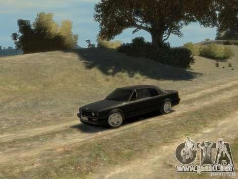 BMW 3-er E30 para GTA 4 vista superior