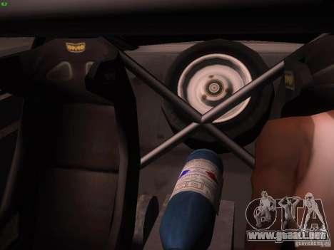 Ford Mustang Shelby GT500 para la vista superior GTA San Andreas