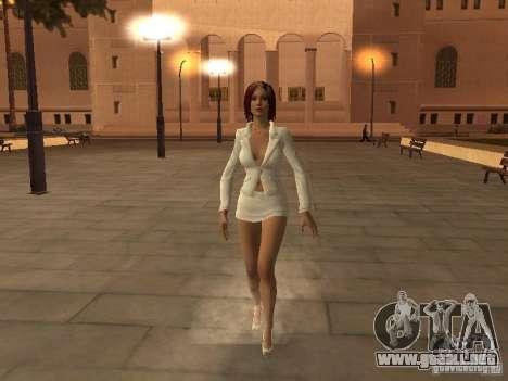 Black Stallion Peds para GTA San Andreas segunda pantalla